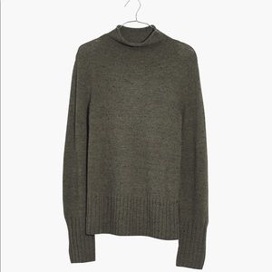 Madewell Donegal Inland Turtleneck Sweater Small